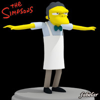 moe szyslak 3d model