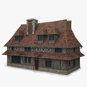 french farmhouse obj