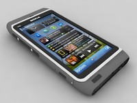nokia n8 mobile 3d model