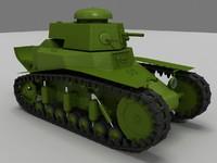 3d soviet tank ww2 model