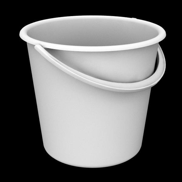 bucket 3d 3ds