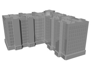 3d buildings mansions military