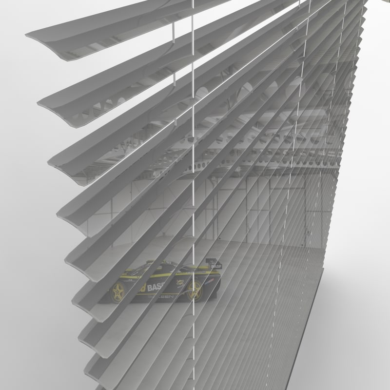 2008 blinds 3d model