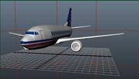 maya 737-400 continental