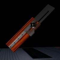 3d blade gauge model