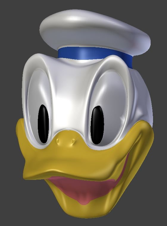 3d donald duck model