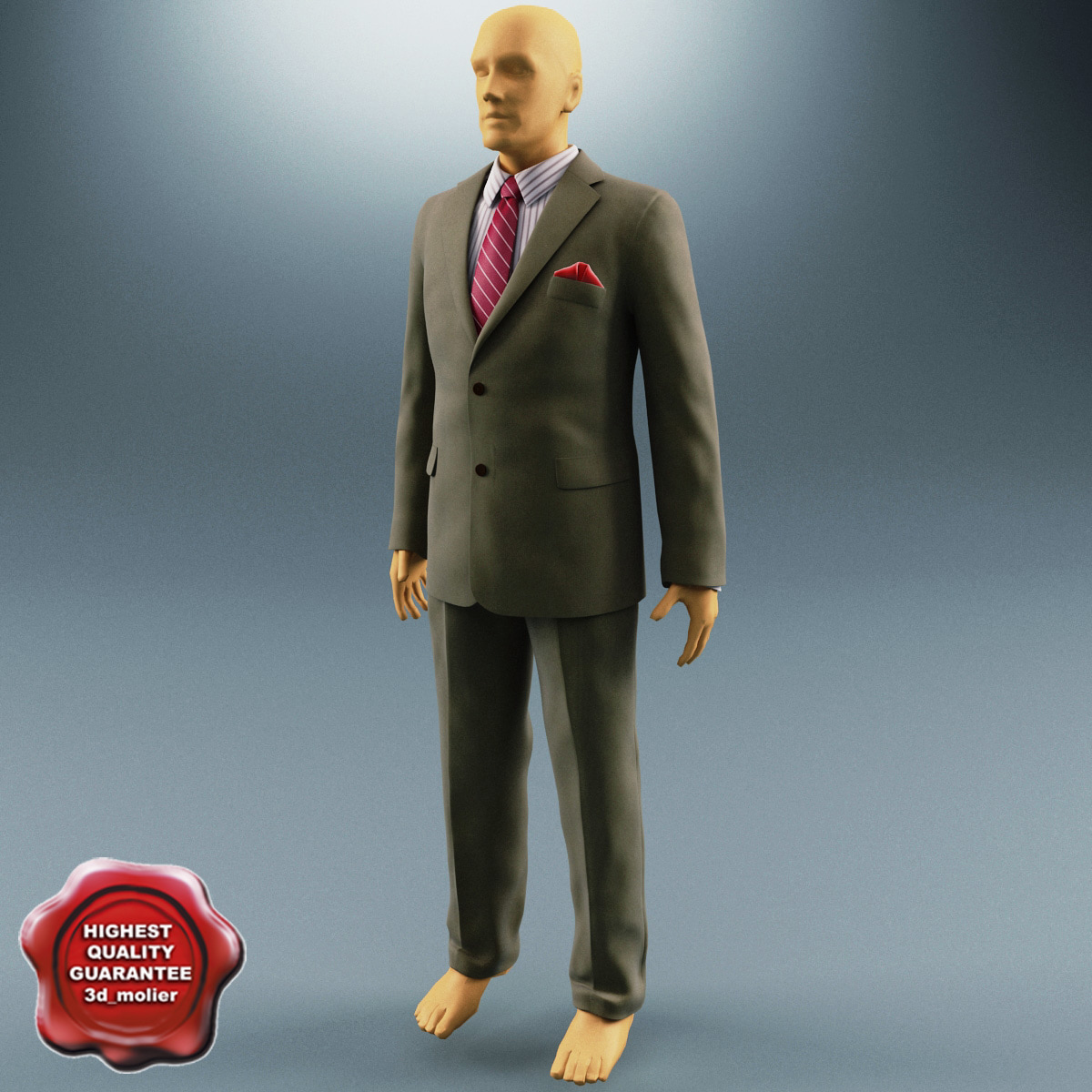 lightwave men suit