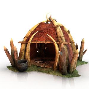 orc farmhouse fantasy house max