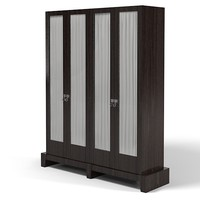 Promemoria Amarcord high cabinet with wooden doors bookcase traditional(1)