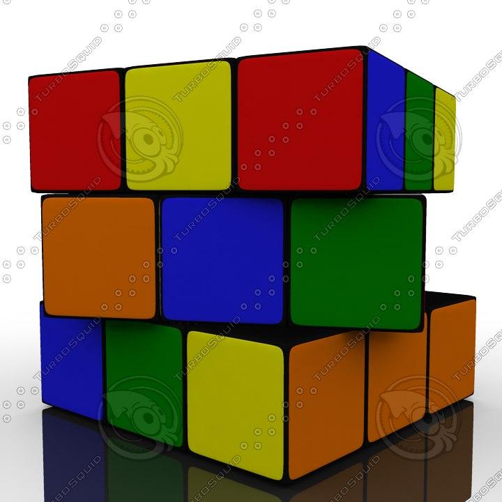 maya cube rube