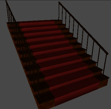 staircase 3d x