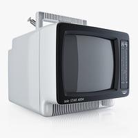 tv portable waltham telestar 3d c4d