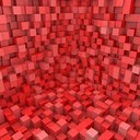 Abstract Cuboids Scene