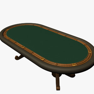 3ds max holdem table wooden chip