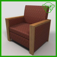 lounge chair 1 3d 3ds