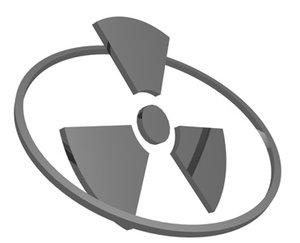 nuclear alert 3d model