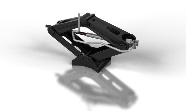 car jack 3d model