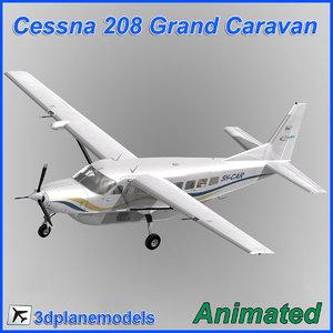 cessna 208 caravan grand dxf
