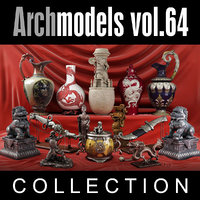 3d model archmodels vol 64
