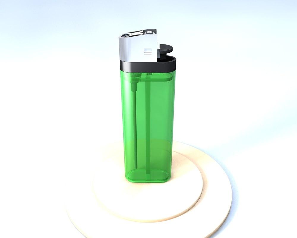 green lighter c4d