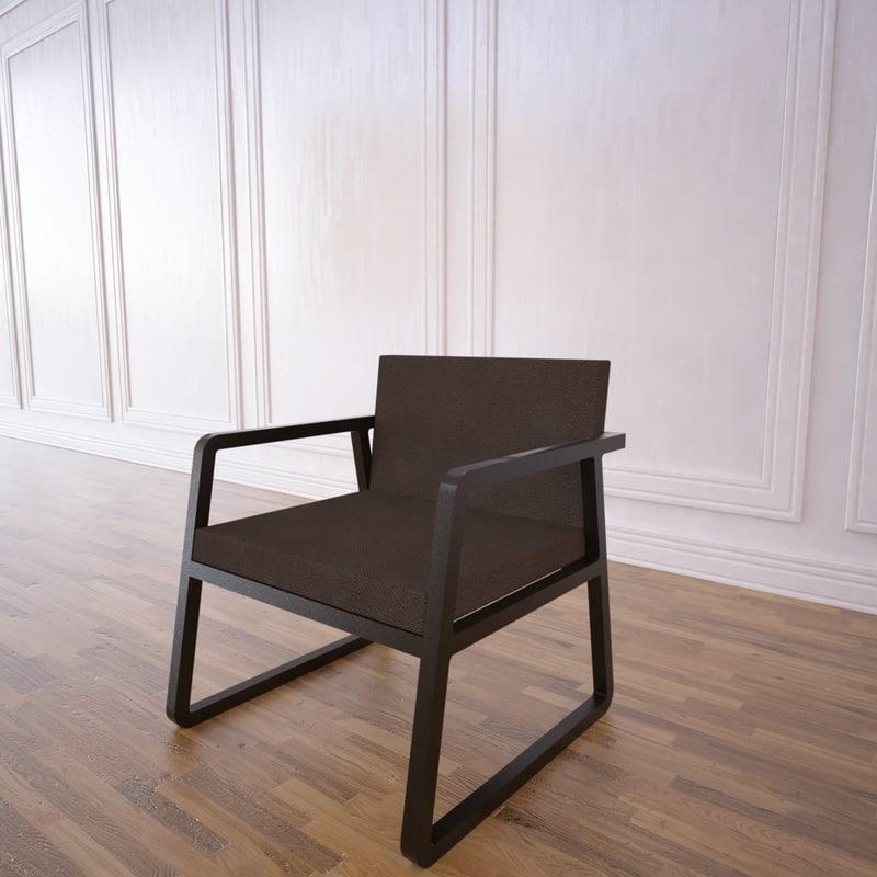midori chair 3d max