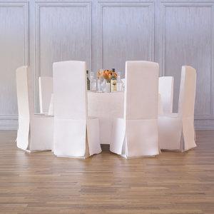 3d ballroom table