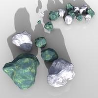 3d planet stones
