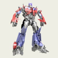 free optimus prime 3d model