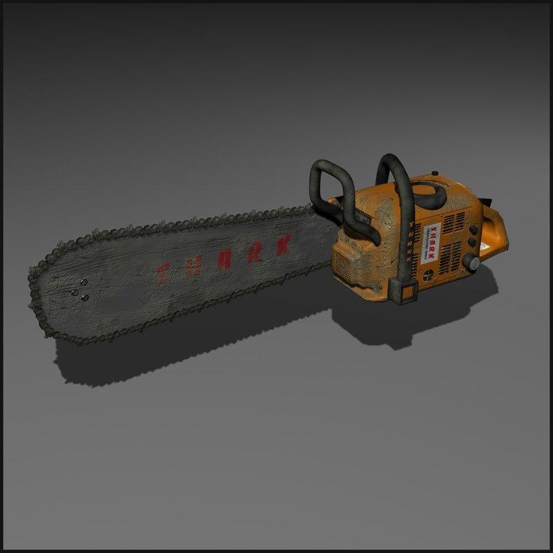 maya chainsaw machine