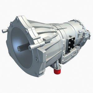 allison speed automatic transmission 3d model