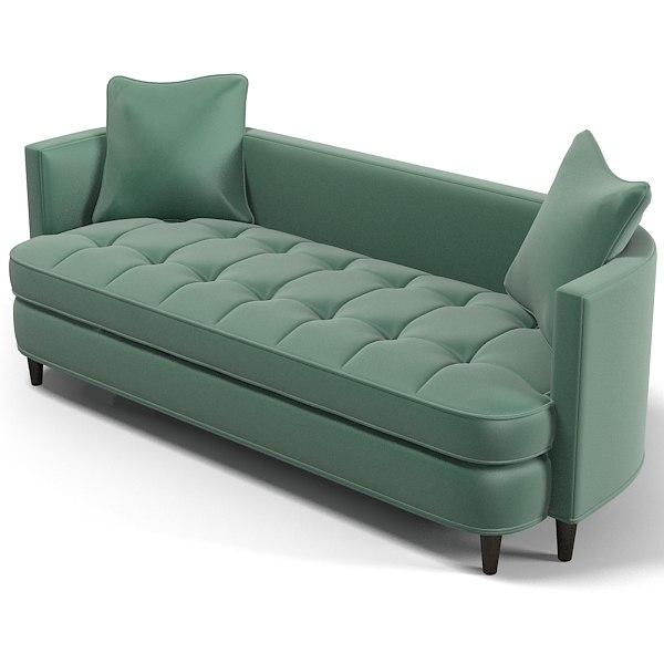 Groovy Edward Ferrell Lewis Mittman Paramount Tufted Sofa Download Free Architecture Designs Xerocsunscenecom