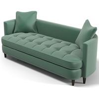 Edward Ferrell + Lewis Mittman Paramount  Tufted Sofa