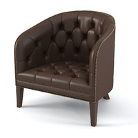 Suffolk Chesterfield distinctivechesterfields  Tufted Club Chair Armchair traditional modern classic leather