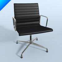 ea 108 aluminium chair obj
