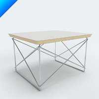 charles eames ltr table 3d model