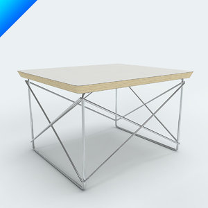 charles eames ltr table 3d model