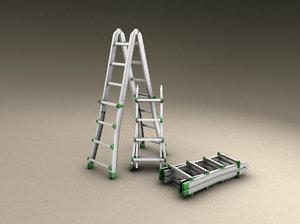 3d highres ladder