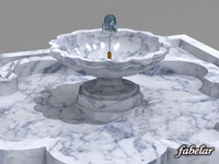 water fountain 3ds