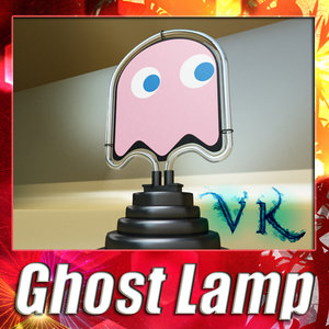 max ghost lamp pac-man