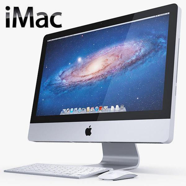 imac 2012 complete set 3d lwo