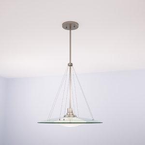 kichler structures pendant chandelier 3d model