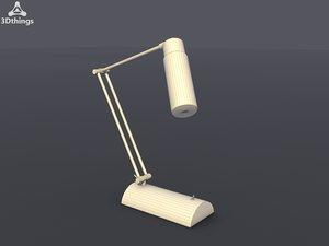 table lamp modern 3d model