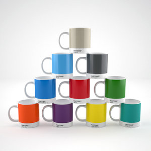 3d model pantone cups