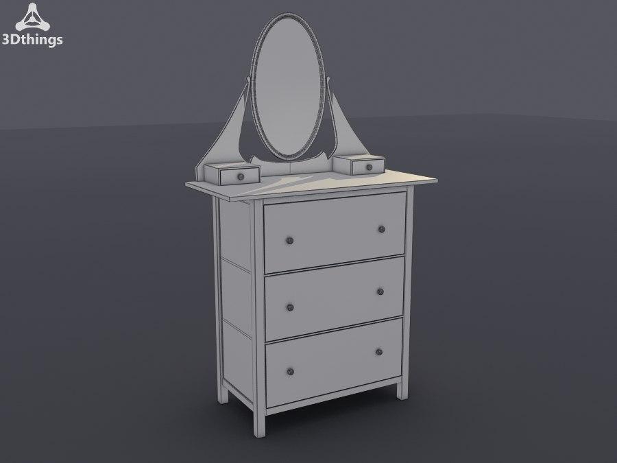 3d model stand closet