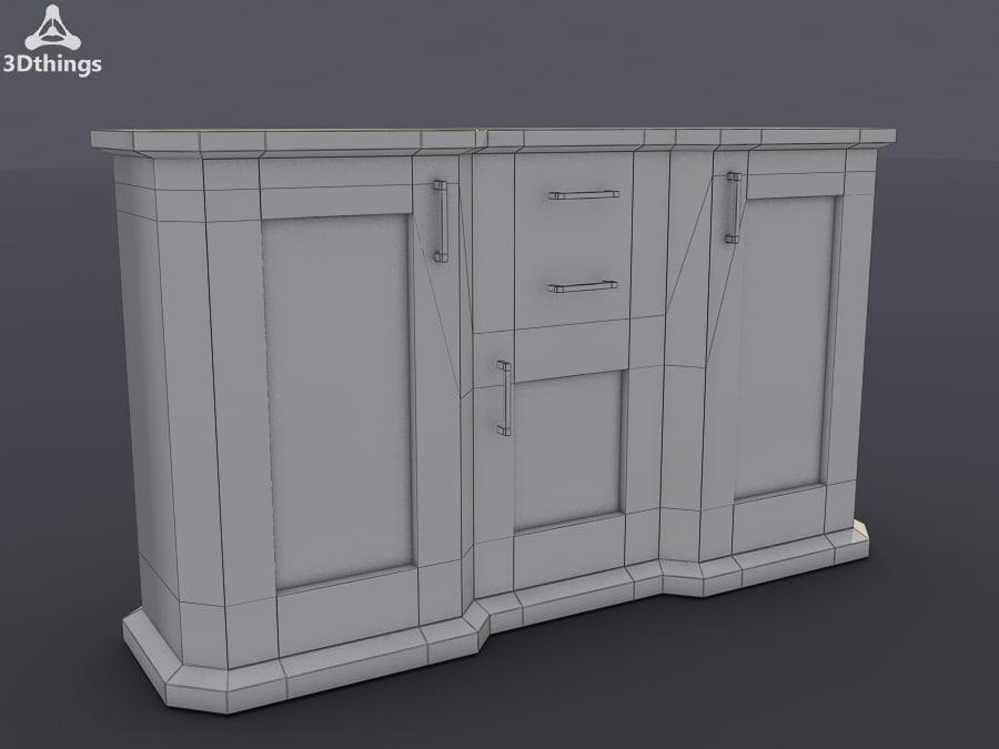 3dsmax stand closet
