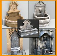 Fountains collection 1
