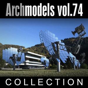 archmodels vol 74 3d c4d