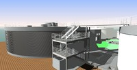 waste treatment 3d rvt