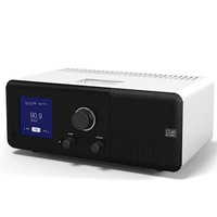Cue Acoustic Table Radio iPod Dock alarm clock modern contemporary(1)