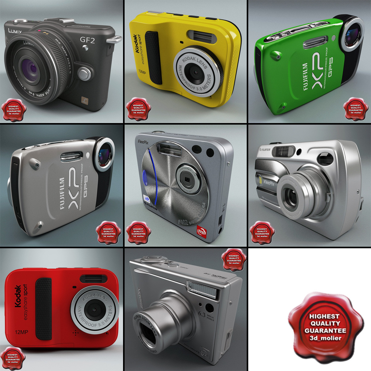 3ds max digital cameras v7